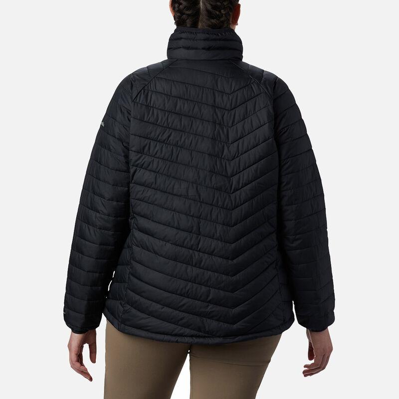 מעיל מבודד במידות גדולות לנשים