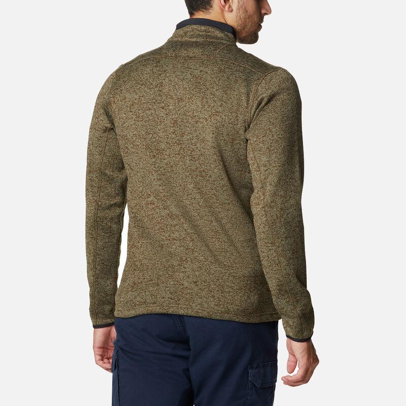 סוודר פליס במידות גדולות לגברים