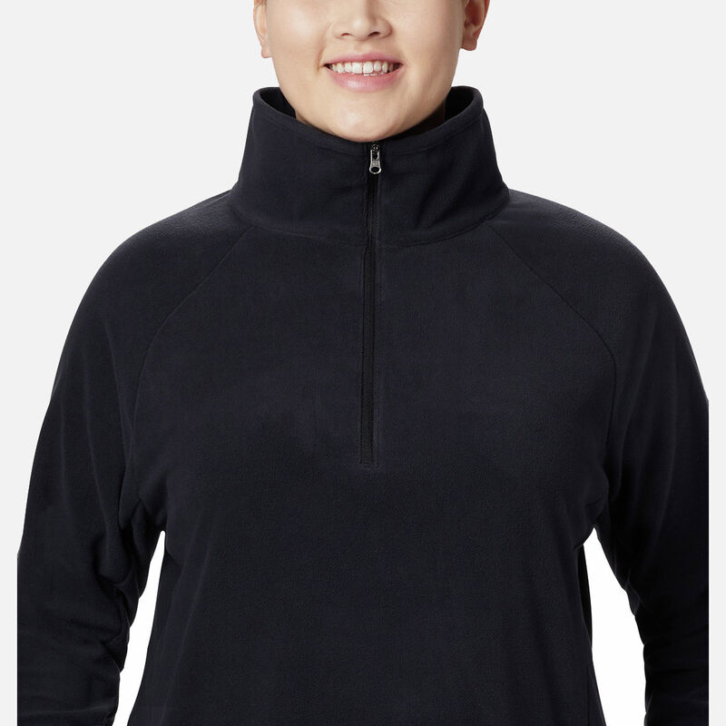 חולצת מיקרו-פליס במידות גדולות לנשים