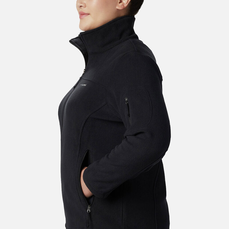 מעיל פליס במידות גדולות לנשים
