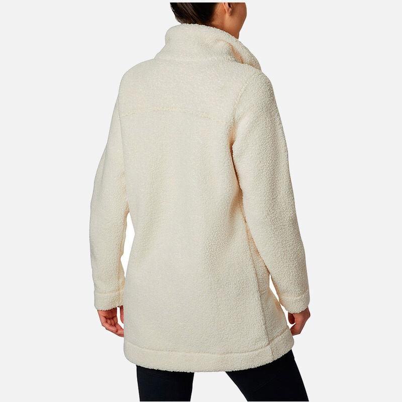 מעיל פליס ארוך לנשים